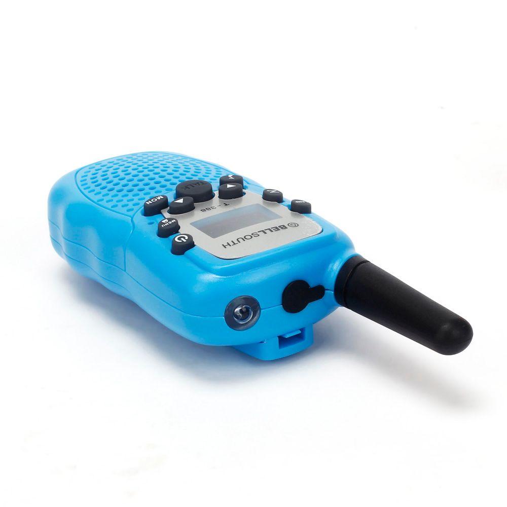 2pcs Wireless Walkie-talkie Eight Channel 2 Way Radio Intercom 5KM Blue OF 2017 DropShipping JUL 12