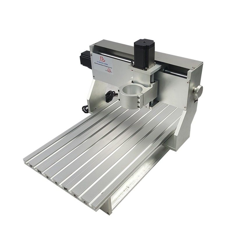 mini DIY cnc router frame 6040 80mm spindle motor suitable PCB engraving machine for metal