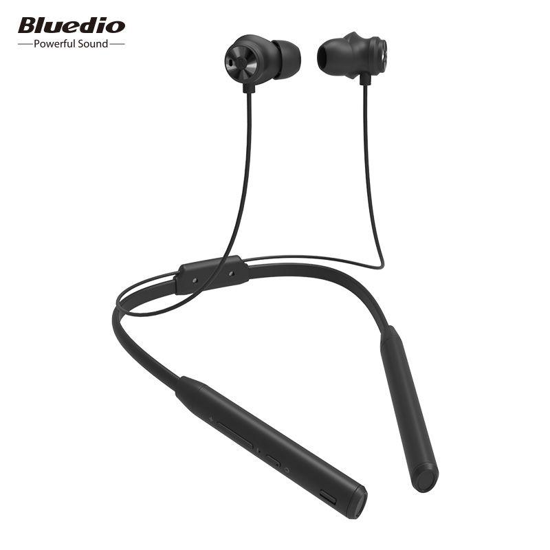 Bluedio TN2 Sport Bluetooth écouteurs avec annulation active du bruit/Sans Fil Casque pour téléphones et musique