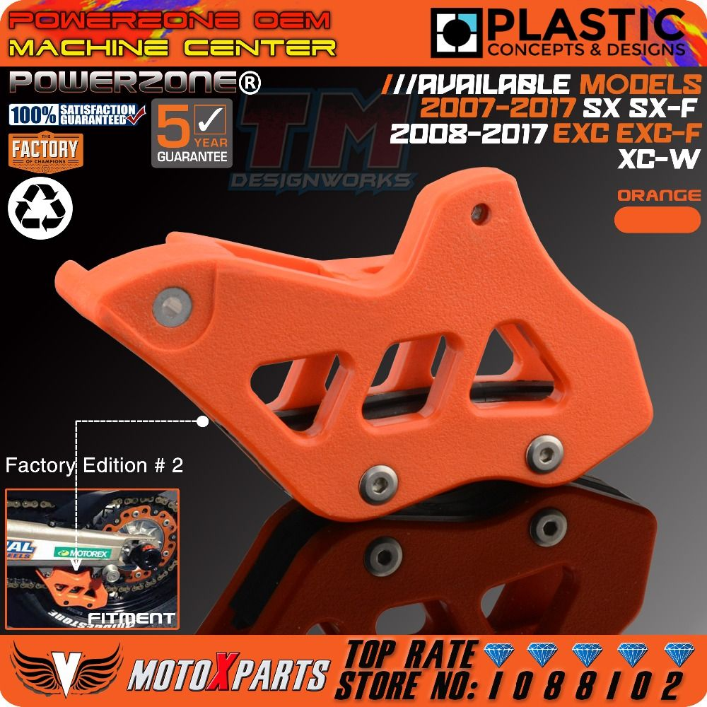 Chain Guide Guad For KTM 125 200 250 300 350 400 450 525 530 EXC SX SXF XC XCF EXCF EXCW XCFW MX 08-16 690 Enduro