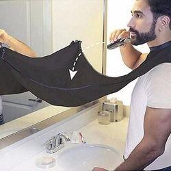 Compact Taille Étanche Barbe Rasage Tablier Solide Couleur Hommes Ménage Salle De Bains Barbe Coupe Tablier Cheveux Rasage Tablier Styling Outils