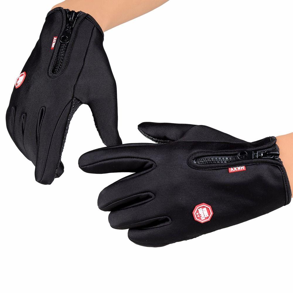 Frauen Männer Radfahren Handschuhe Snowboard Handschuhe Motorrad-reiten Touchscreen Schnee Wasserdichte Handschuh M/L/XL Freies verschiffen