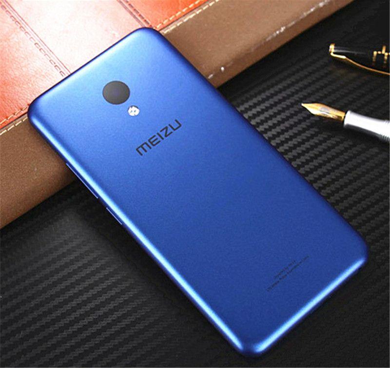 Officielles Meizu Retour Couvercle De La Batterie Pour Meizu M5 D'origine PC Téléphone Cas pour Meilan 5 Logement Pièces De Rechange 5.2