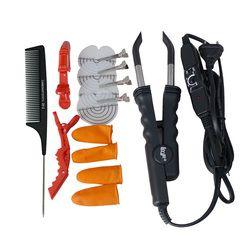 1 шт. Наращивание волос Fusion Утюг Разъем, LOOF L-618, Управление Температура, черный, разъем волосы инструменты