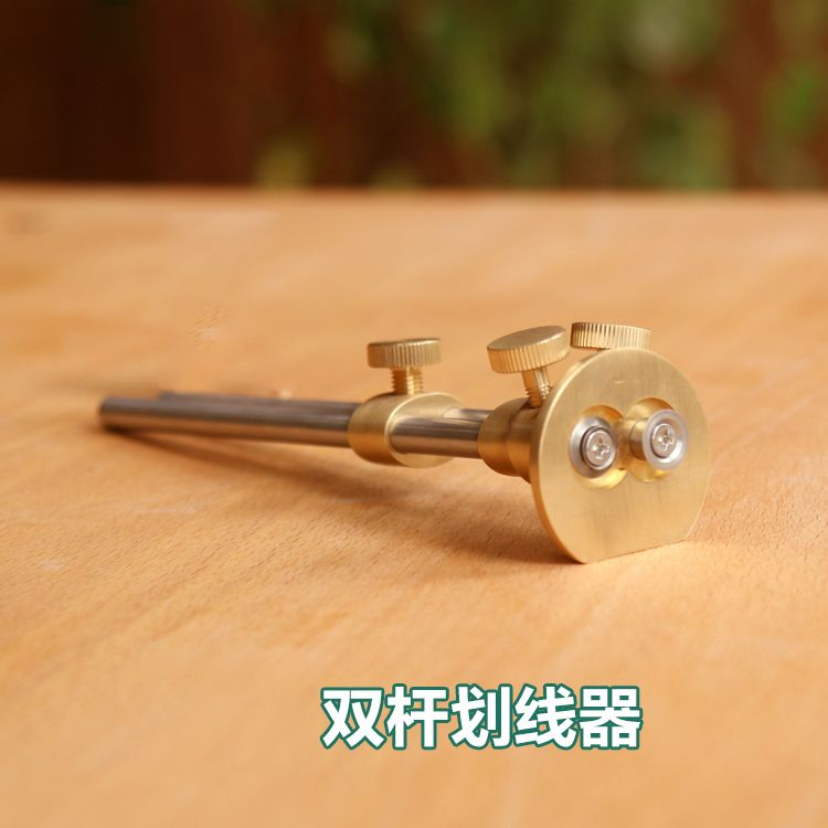 Free shipping Woodworking double-bar scribing device,tool for wood carving,Woodworking tool