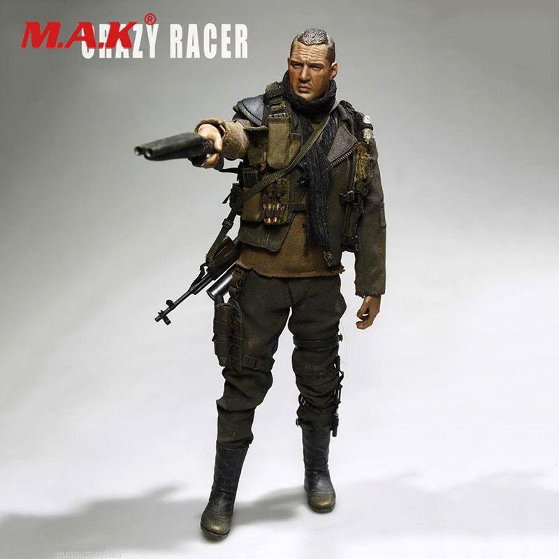 Volle set 1/6 Skala AF019 Action figur Spielzeug Verrückte Racer Mad Max Fury Road Tom Hardy Puppe