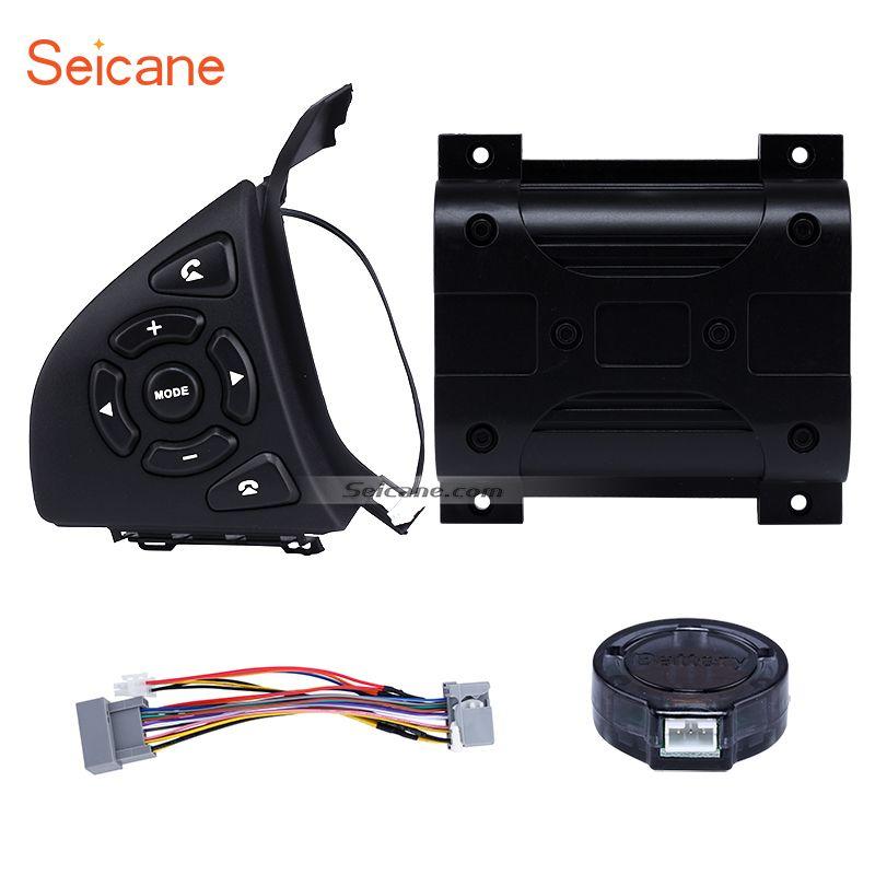 Seicane Car Audio Volume Music Player Regulator Bluetooth Phone Remote Button Steering Wheel Controller for HONDA HRV CITY