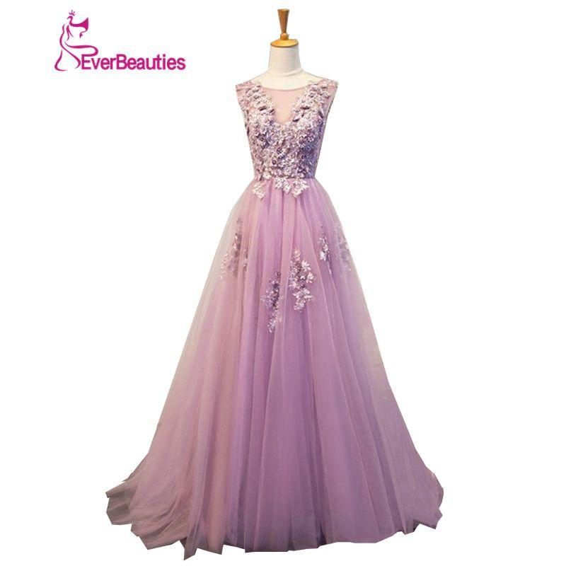 Evening Dresses Long Plus Size Tulle Beaded Prom Party Gown Vestido De Festa Elie Saab Robe De Soiree Abendkleider 2018 Abiye