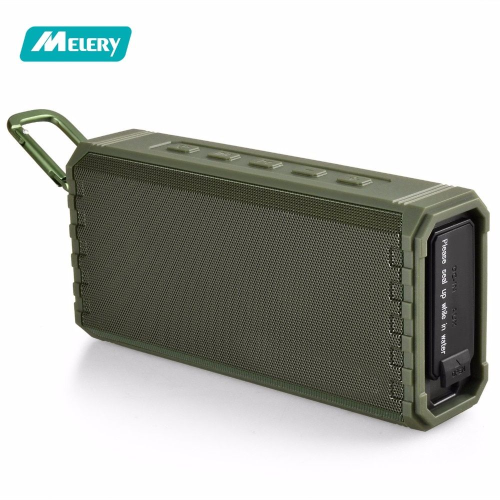 Portable Wireless Bluetooth Speaker Hi-Fi Sound Bass Enhance 16W IPX7 Water Resistant Floating Shelf 24Hr for Home Outdoors