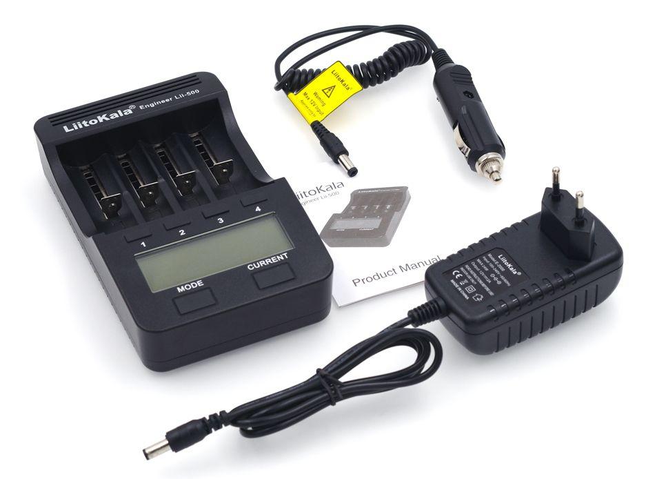 Liitokala Lii500/Lii402/Lii202/Lii100/Lii300/LiiS1 1,2 V/3,7 V 18650/26650/18350/16340/18500/AA/AAA NiMH lithium-batterie-ladegerät