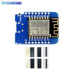 ESP8266 ESP-12 ESP-12F CH340G CH340 V2 USB WeMos D1 Mini WIFI Conseil de développement D1 Mini NodeMCU Lua IOT Conseil 3.3 V Avec Des Épingles
