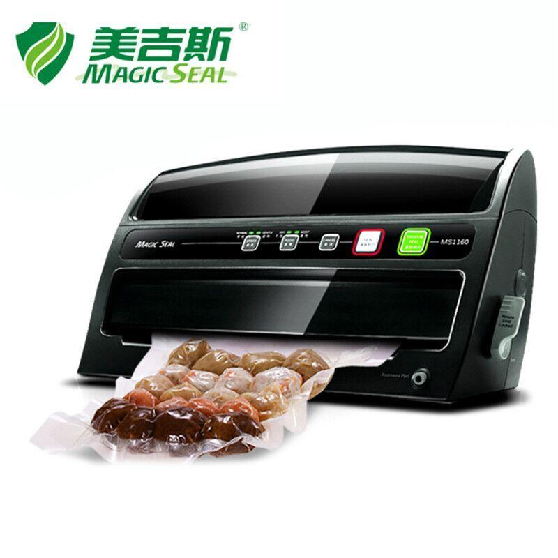 MAGIE SEAL Food Saver Vakuum Verpackung Maschine mit Roll Cutter, elektrische Hause Vakuum Versiegelung 200 watt/220 v mit Vakuum Tasche