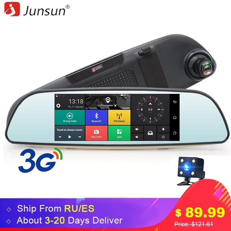 Junsun E515 Car DVR 3G Mirror 6.5