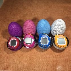 Cool Design Dinosaur egg Virtual Cyber Digital Pet Game Toy Tamagotchis Digital Electronic E-Pet Christmas Gift DROPSHIPPING