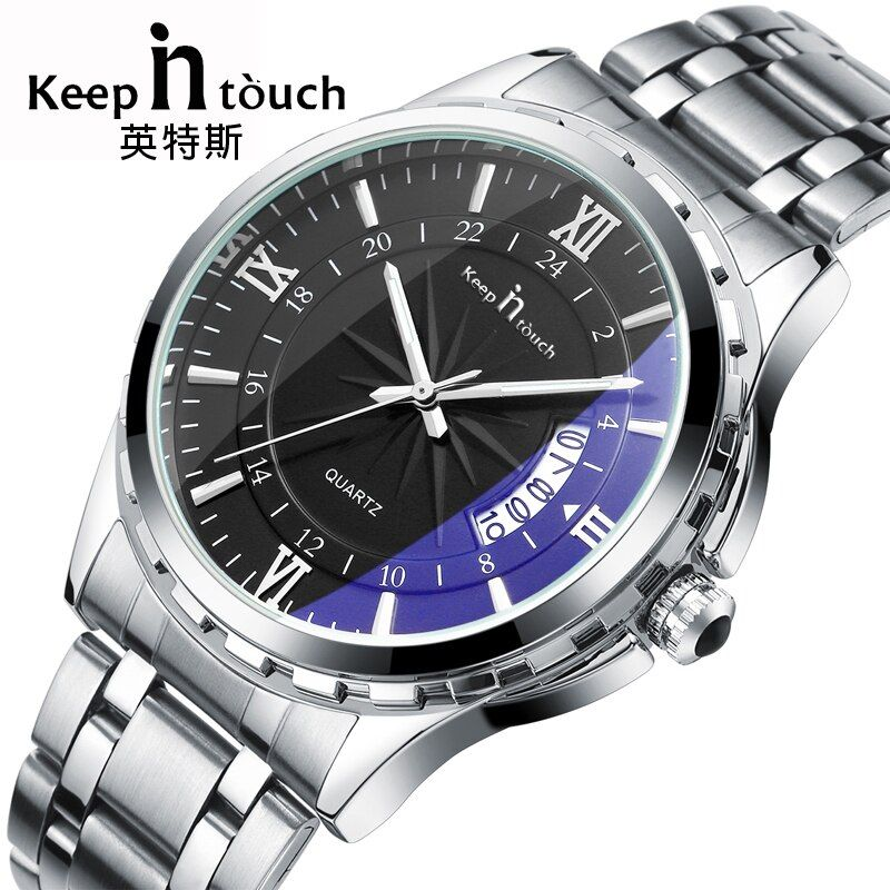 Top Luxury Brand Men Watch Waterproof Noctilucent Casual Man Watches Retro Relogio Masculino <font><b>Luminous</b></font> Steel Band Calendar Watch