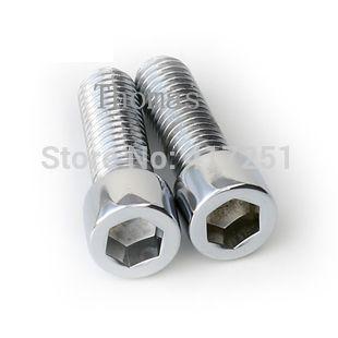 Low price 1 piece Metric Thread M6*45mm Stainless Steel Hex Socket Bolt Screws Fasteners