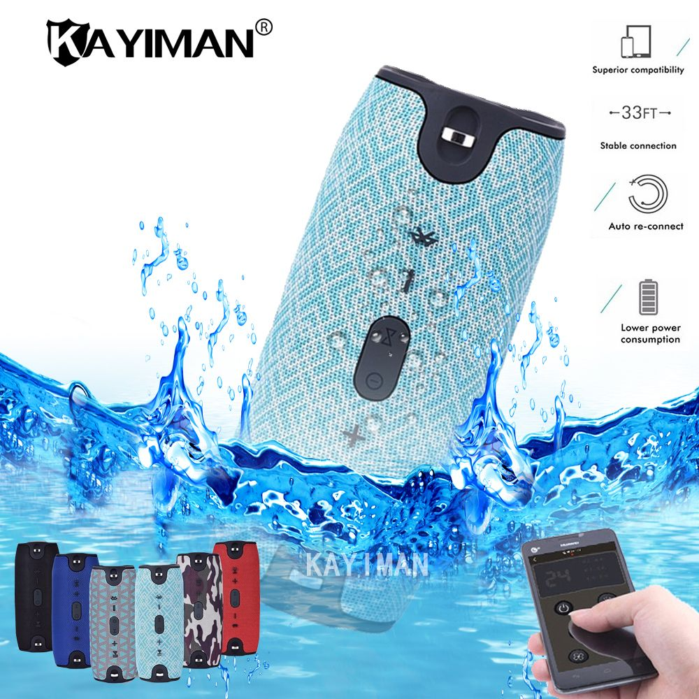 Outdoor New Bluetooth Speaker Portable Wireless Speakers Waterproof 20w stereo Music surround for Smartphone Fm Radio TF MP3