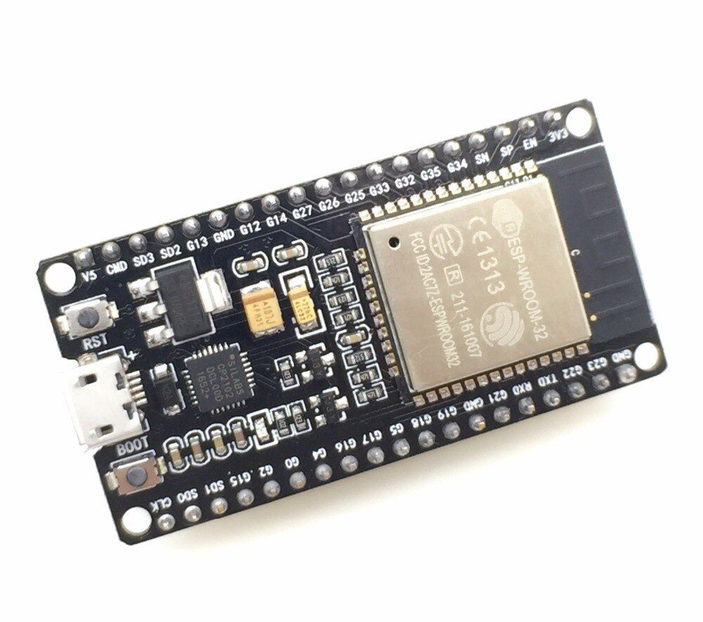 ESP32 Développement Conseil WiFi + Bluetooth Ultra-Faible Consommation D'énergie Dual Core ESP-32 ESP-32S ESP 32 Similaire ESP8266