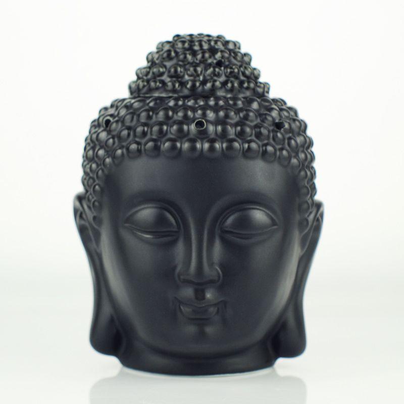 Керамика аромалампы и ароматерапия головы Будды аромат эфирного масла диффузор индийский Ладан Будда Тибетский Ладан горелки H