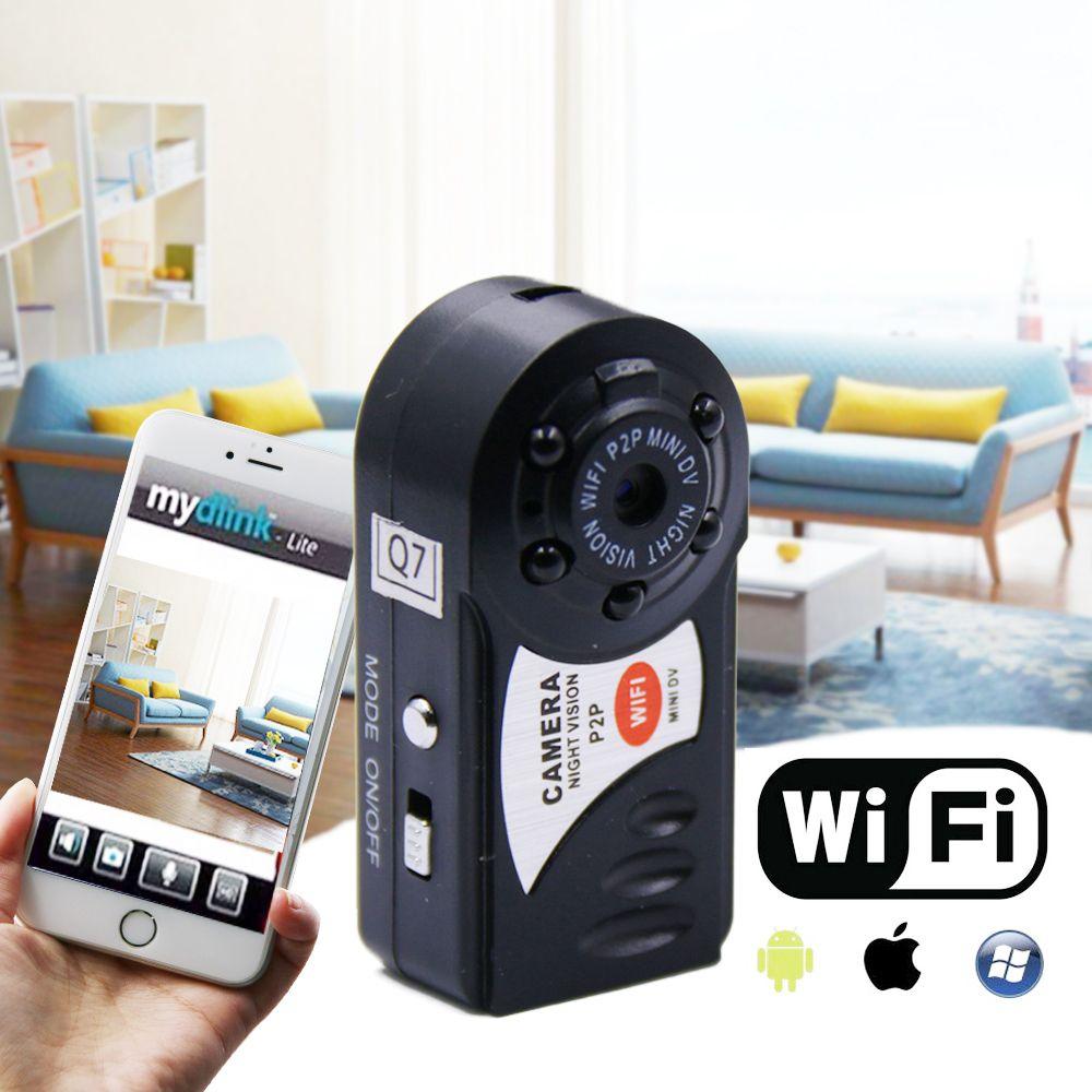 Q7 Mini Wifi DVR Videokamera Drahtlose Wi-fi IP Camcorder Nachtsicht Kamera mit mikrofon