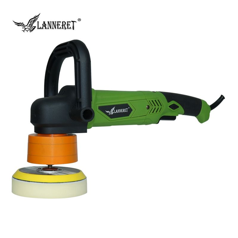 LANNERET DP900/125DD01 900W 125mm variable speed 6 speed Electric Dual Action Shock and Polishing Machine Car Polisher Cleaner