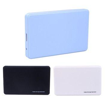 Haute Vitesse Mobile USB 3.0 à SATA Hdd HDD Dur lecteur Externe Hdd Case Box Pour Windows/Mac OS 3 Couleurs