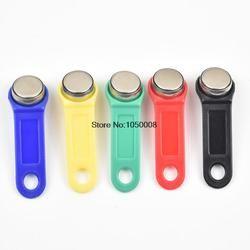 10 шт./лот Перезаписываемый RFID Touch Memory ключ, RW1990 iButton, копия карты, сауна ключ