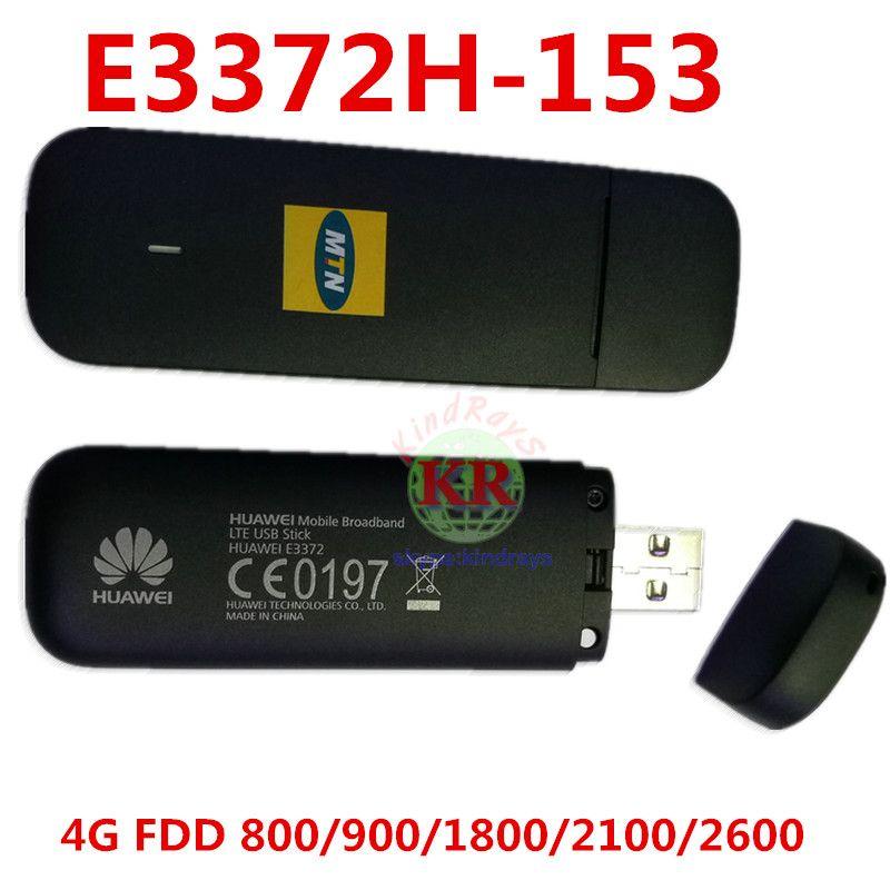 Entriegelte Huawei E3372 E3372h-153 4G LTE USB Dongle USB Stick Datacard Mobile Broadband USB Modems 4G Modem LTE Modem