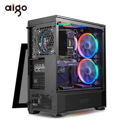Aigo Desktop Komputer ATX PC Komputer USB3.0 HD Audio Komputer 360 Mm PC Chassis Gabinete Cadeira
