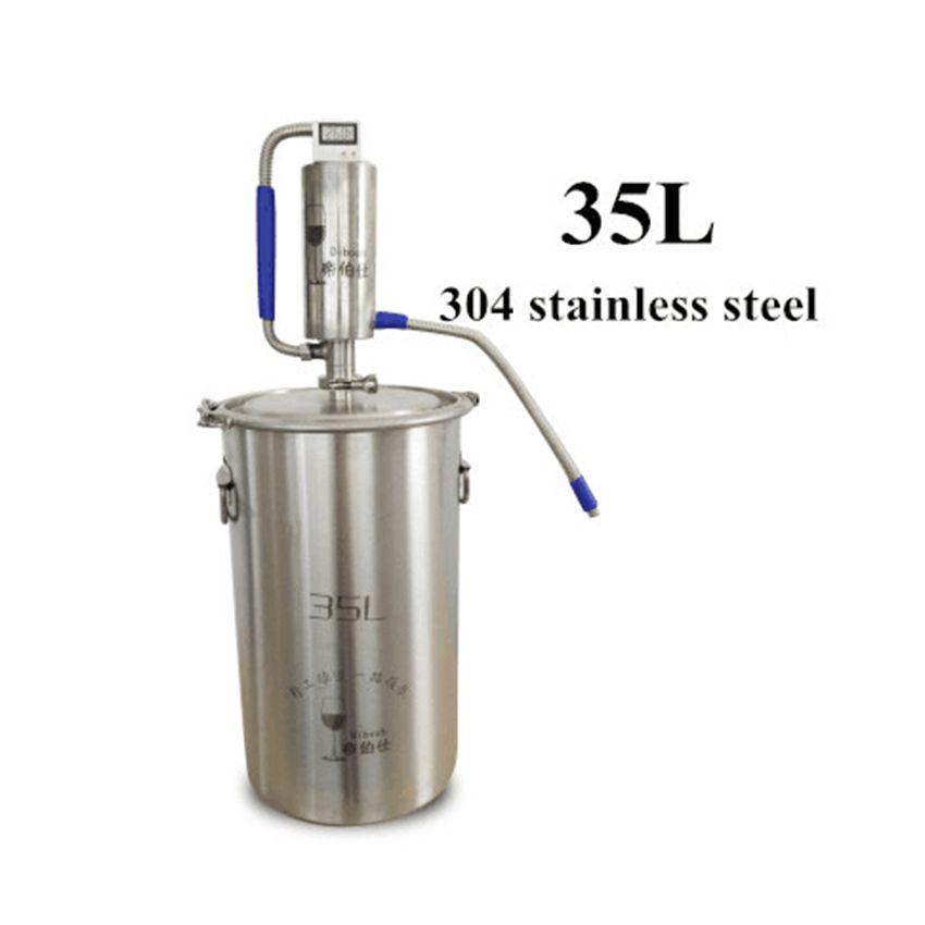 35L Mini Destillation Maschine Moonshine Homebrew Brennerei Brauen Alkohol Mashine Brennerei