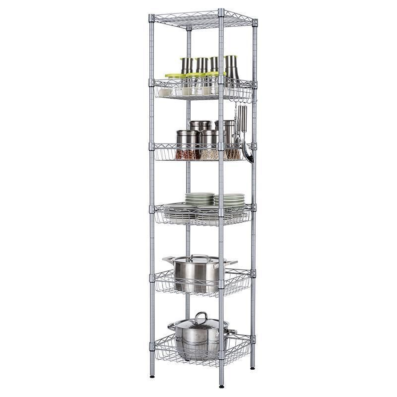 Industrial Decor Perchero Repisa De Pared Decorativos Etagere Rack Rangement Cuisine Kitchen Storage Bathroom Organizer