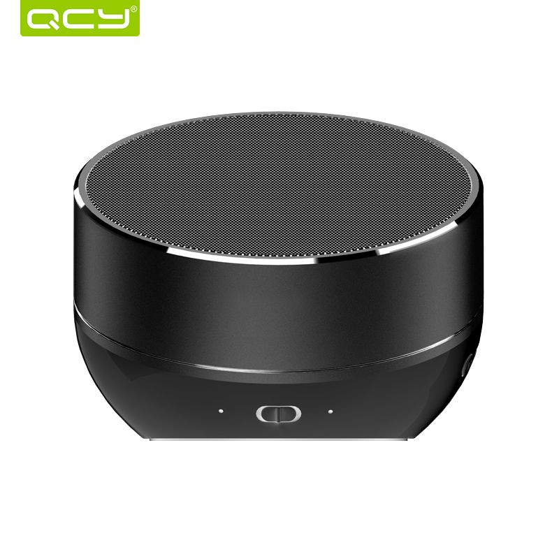 QCY QQ800 sans fil bluetooth haut-parleur métal + plastique mini portable subwoof système de son MP3 musique audio lecteur TF carte AUX