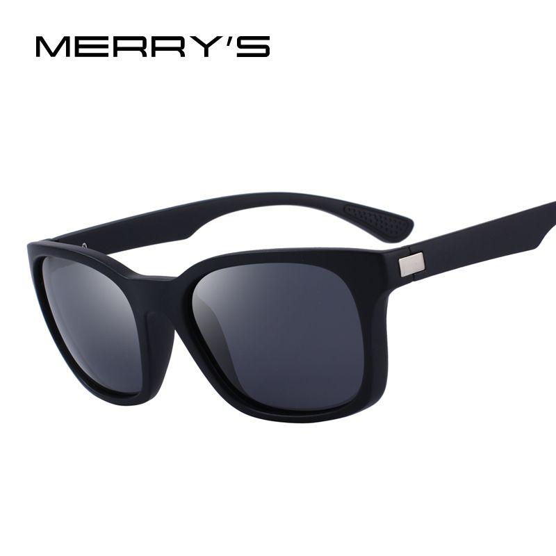 MERRY'S DESIGN Men Polarized Sunglasses Outdoor Sports Male Eyewear 100% UV Protection S'8458