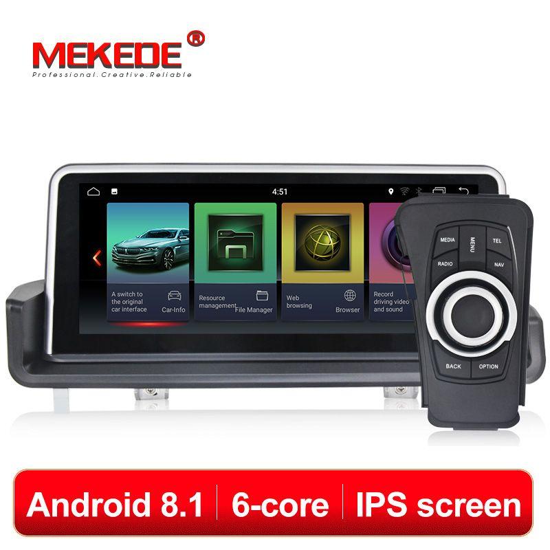 MEKEDE Auto DVD Multimedia player 6 core android 8.1 Auto DVD player GPS navigation für BMW 3 serie E90 E91 E92 e93 2005-2012