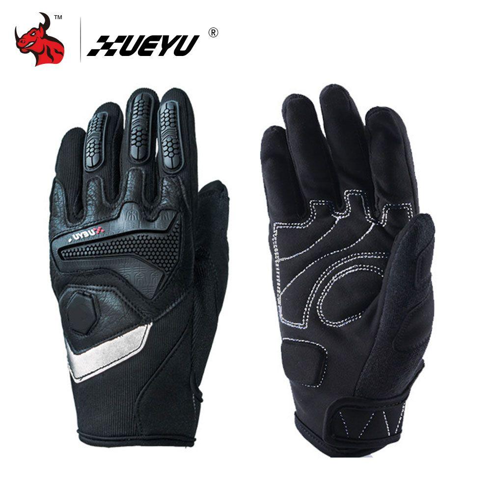 XUEYU Motorcycle Full Finger Gloves Motorbike Street Bike Motocross Racing Luvas Enduro Road Moto Riding Guantes Protective Gear