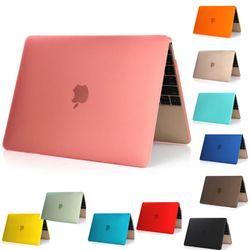 Nuevo Cool superficie helada mate cubierta dura para MacBook 12 ''aire 11
