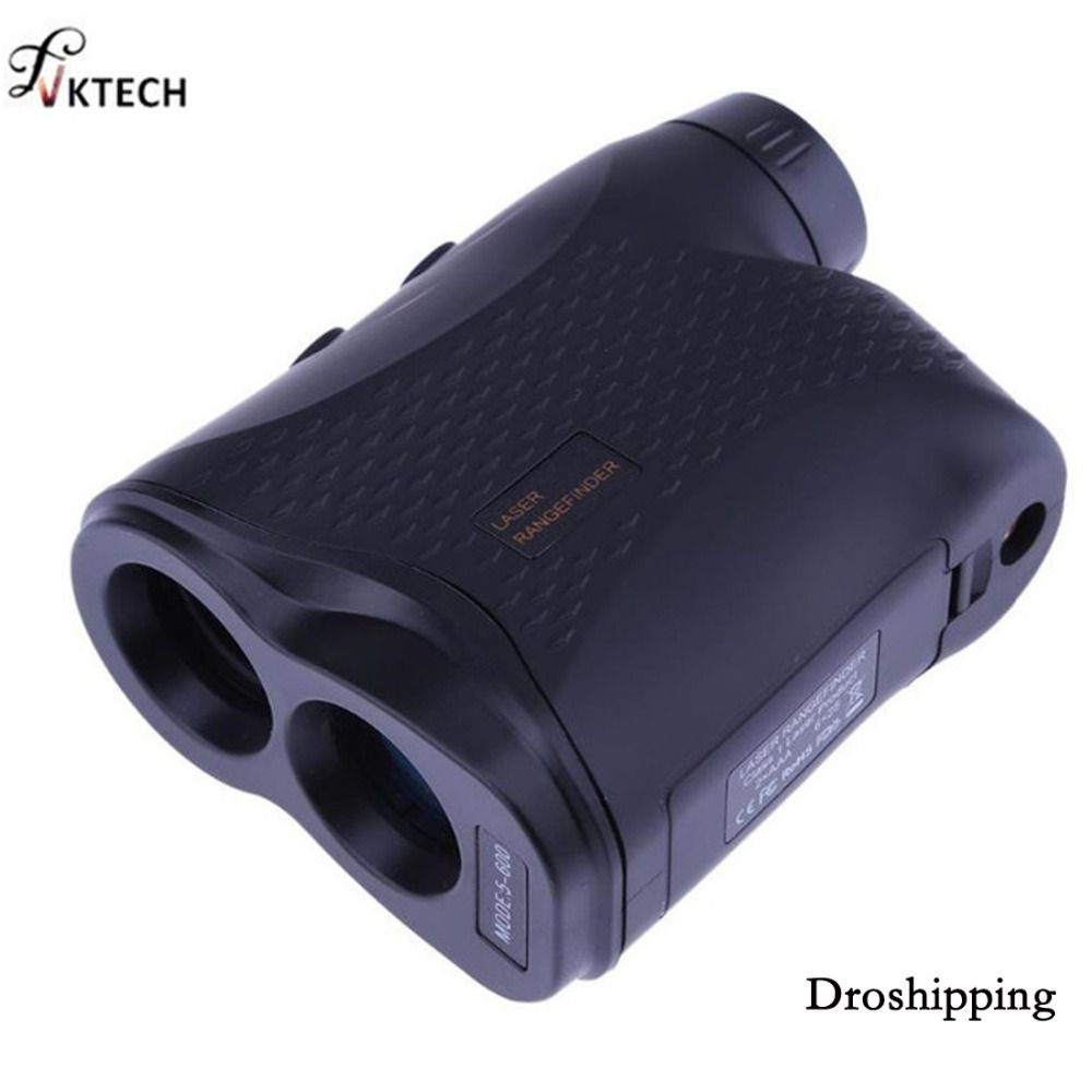 600M Monocular Telescope Laser Rangefinder Telescope for Outdoor Hunting Golf Range Finder Measure Distance <font><b>Speed</b></font> Meter
