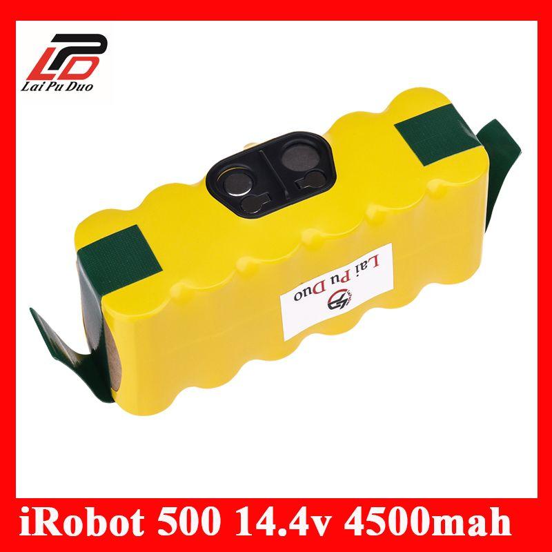 14.4 V 4500 mah NI-MH APS Vide Batterie pour iRobot Roomba 500 530 510 550 560 570 540 R3 780 790 880 Batterie Robotique