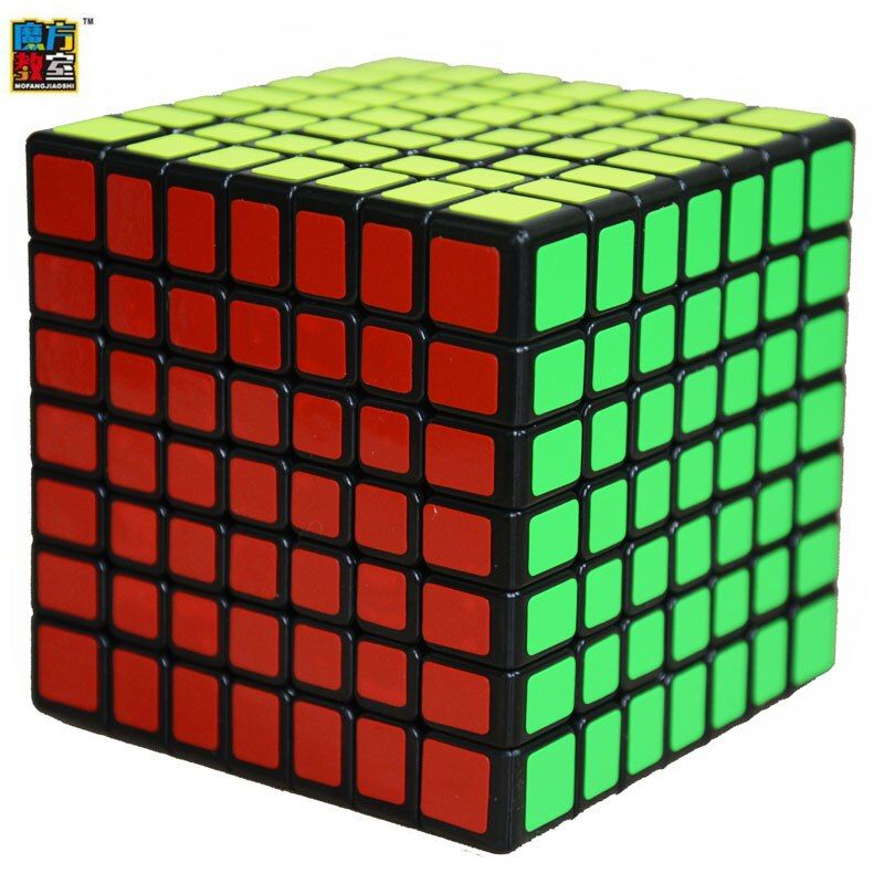 Moyu MF Classroom MF7 Magic Cube 7Layers Cube Seven Layer Black Cube Puzzle Toys For Children Kids