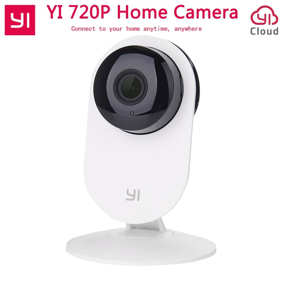 [International Edition] Xiaomi YI Home Camera 720P Wireless Wifi IP Camera Baby Monitor 110