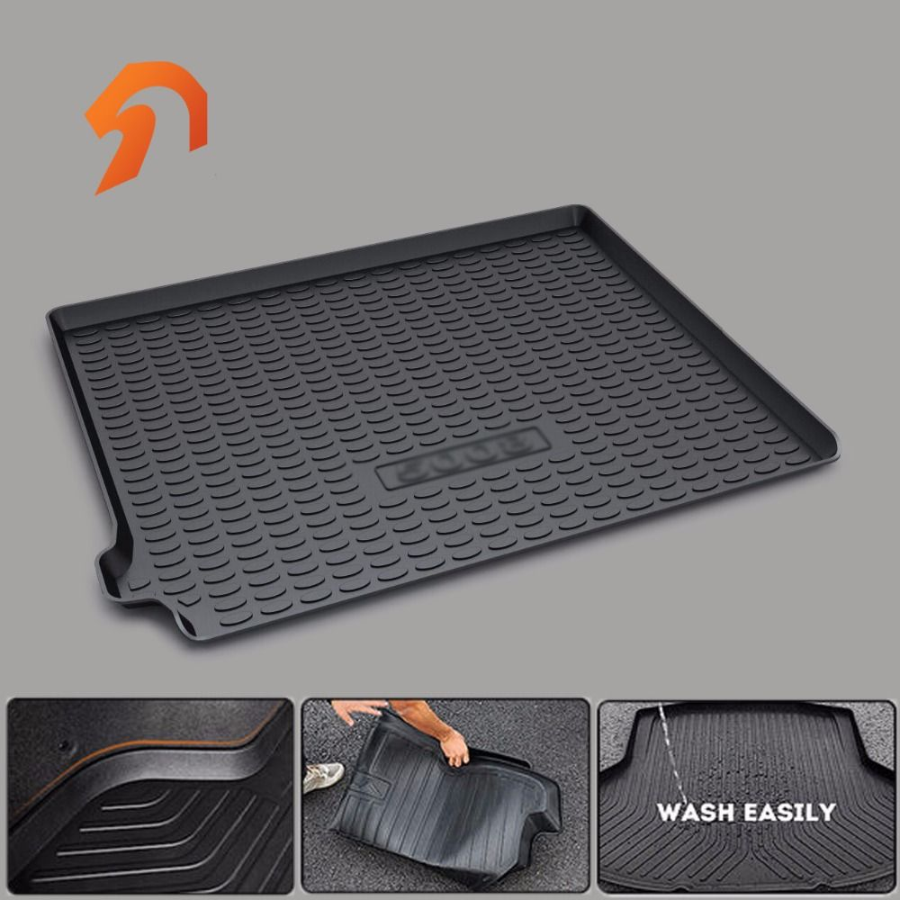 FIT FOR Peugeot 5008 2017 BOOT LINER REAR TRUNK CARGO MAT FLOOR TRAY CARPET MUD COVER PROTECTOR 3D car-styling