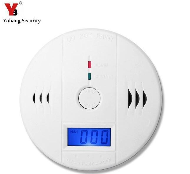 Indépendant LCD Monoxyde De Carbone CO Capteurs et Alarme de Sécurité Protection D'alarme Incendie Capteur de Carbone CO Empoisonnement Détecteur