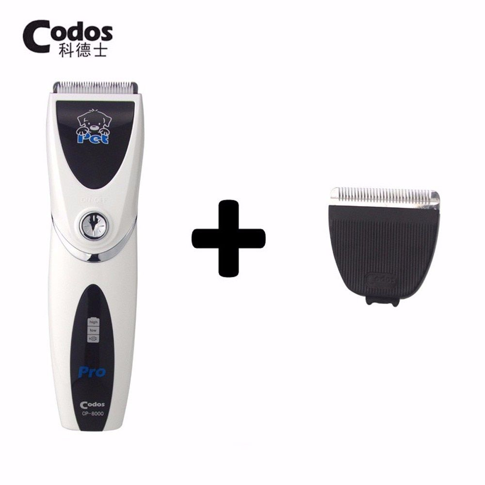 Professional Codos CP8000 Dog Hair Trimmer With Sharp Edge Haircut Ceramic Blades Pet Hair Shaver Machine Animal Clipper