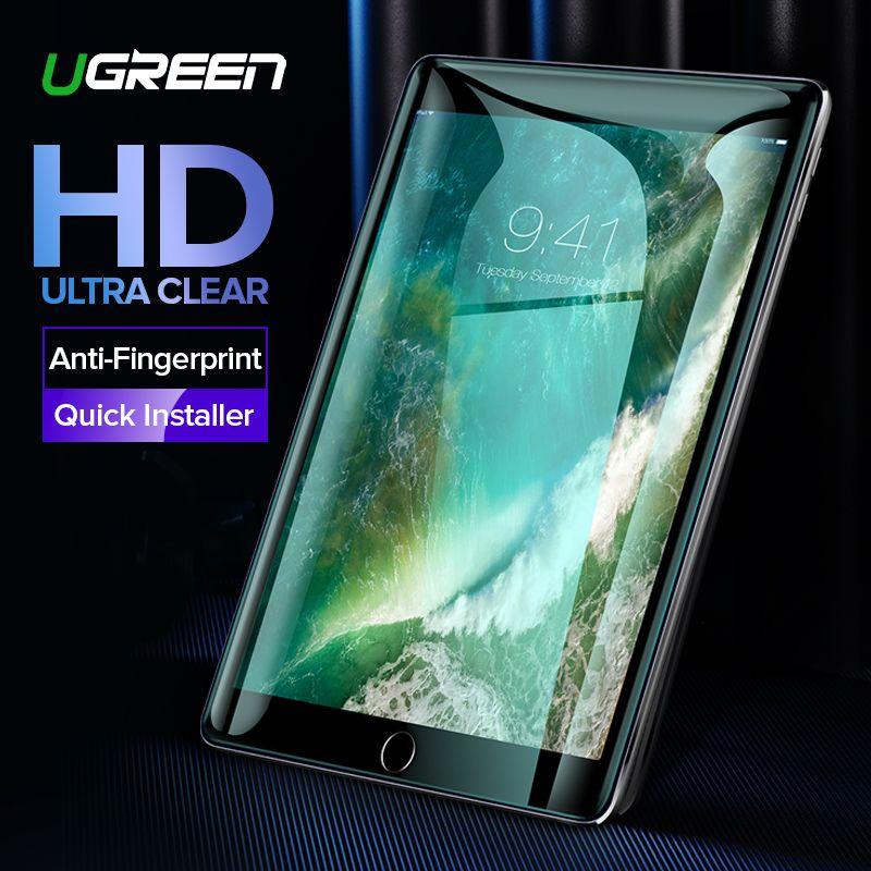 Ugreen Für iPad Screen Protector Glas für iPad 2018 Air Pro 2018 9,7 zoll Screen Protector Für iPad Glas Bildschirm protector