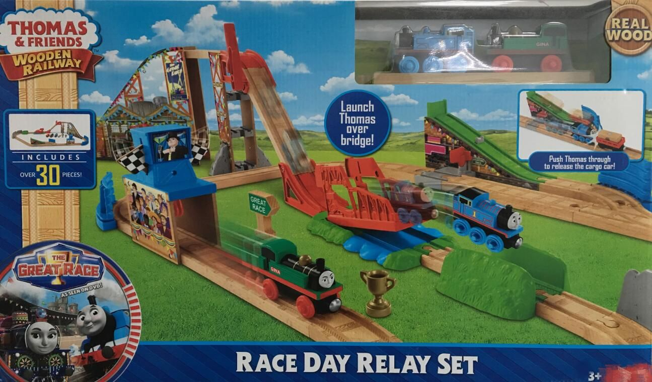 Train Toys Thomas Railway Track TTC87 Gina Relay Set Thomas And Friends Truck Car Brio Toys for Boys Engine Models Building Toy