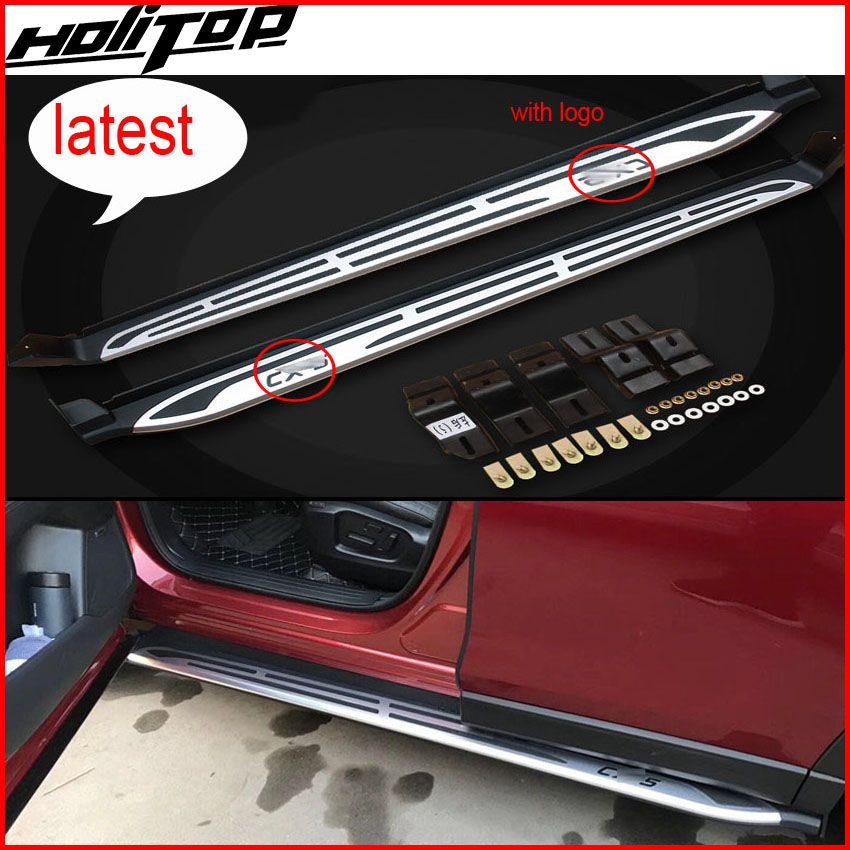 New arrival running board foot steps side step nerf bars for Mazda CX-5 2017 2018+, reliable quality,free shipping to Asia
