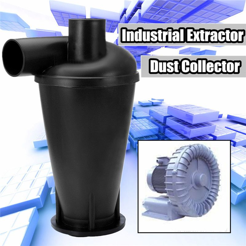 Industrial Extractor Dust <font><b>Collector</b></font> Woodworking Vacuum Cleaner Filter Dust Separation Catcher Turbo Cyclone SN50T3 With Flange