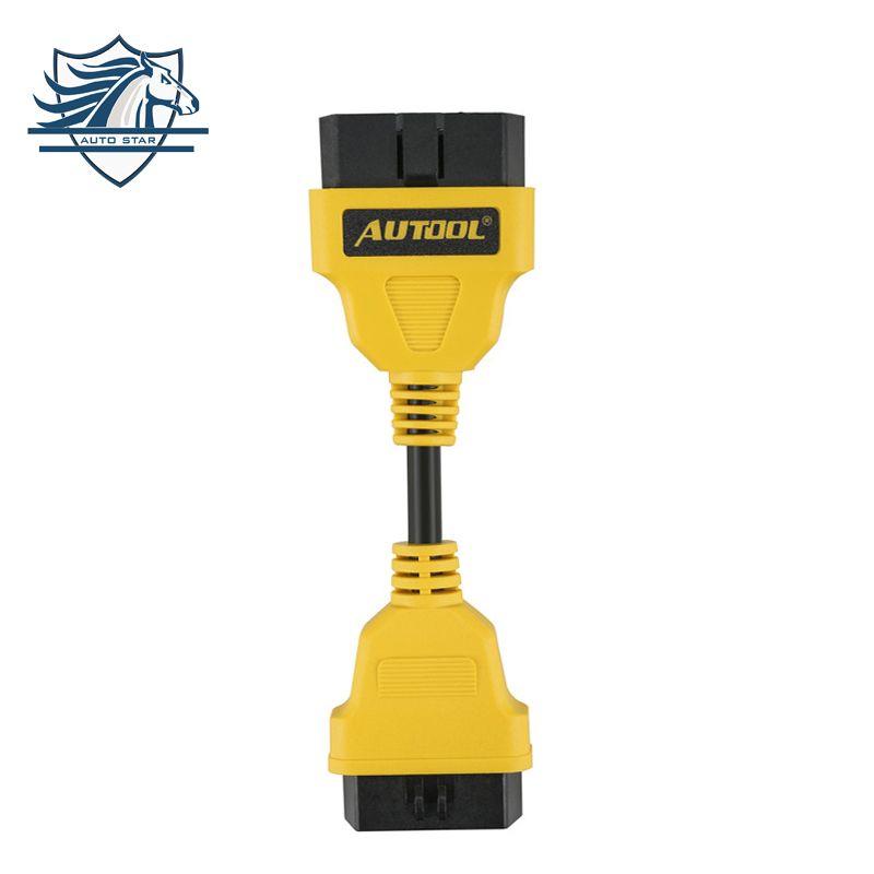 Недавно 14 см OBD2 кабель-удлинитель для Старт iDiag/EasyDiag/Pro/Pro3/v/golo/ mdiag продлить OBDII кабель разъем OBD адаптер