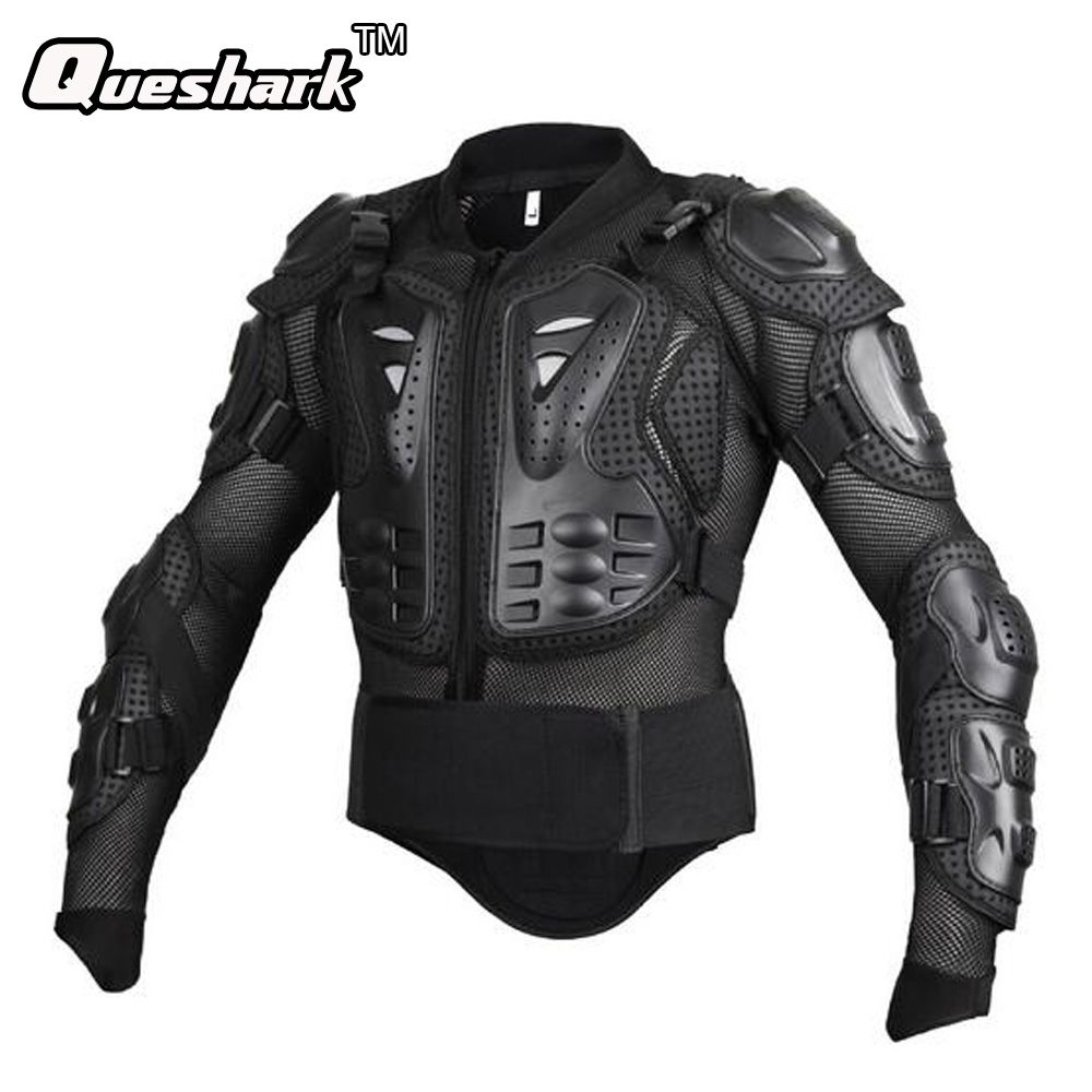 Mens Bike Motorcycle Chest Back Protectior Armour Vest Shooting Tactical Vest Racing Protective Body-Guard Sports Safety Jacket
