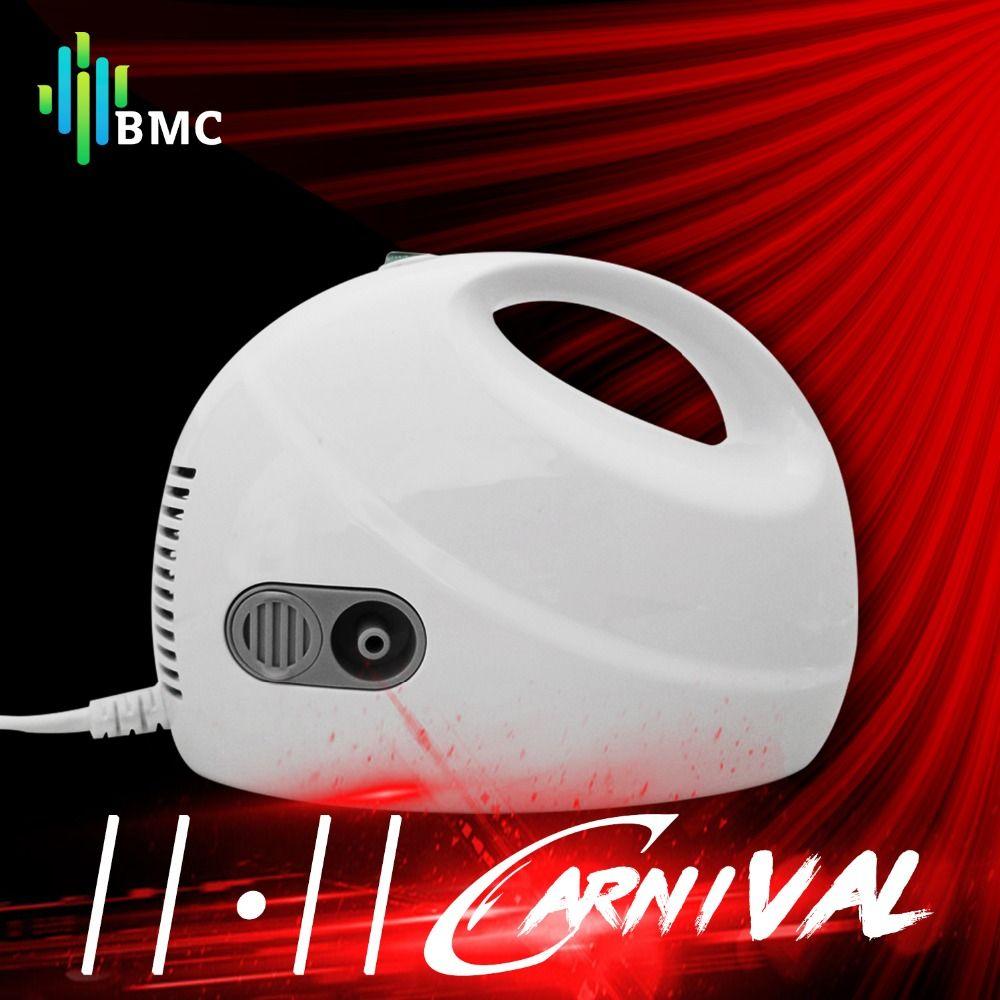 BMC Family Ultrasonic Nebulizer Adult Children Asthma Inhaler Nebulizator Medical Handheld Automizer Steaming Device